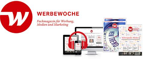 NEU: Werbewoche-Podcasts. Jetzt anhören auf Werbewoche.ch